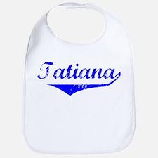 Tatiana Vintage (Blue) Bib