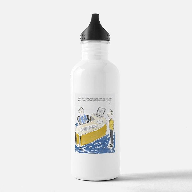 Cute Office Water Bottle