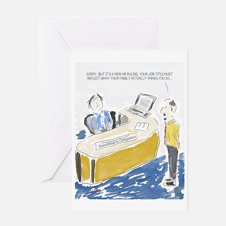 Cute Office Greeting Card