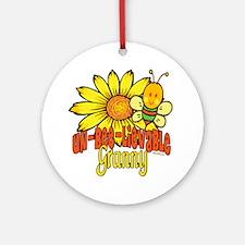 Unbelievable Granny Ornament (Round)