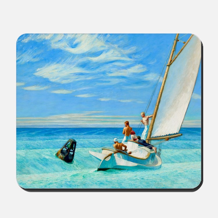 Ground Swell by Edward Hopper Mousepad