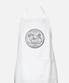 Wisconsin State Quarter BBQ Apron