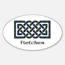 Knot - Fletcher Sticker (Oval)