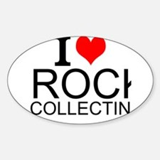 I Love Rock Collecting Decal
