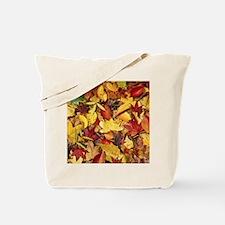 Fall Leaves, Natures Carpet Tote Bag