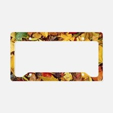 Fall Leaves, Natures Carpet License Plate Holder
