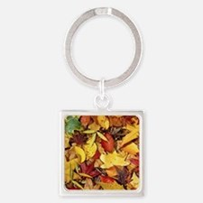Fall Leaves, Natures Carpet Keychains