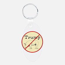 No Trump, Chauvinist pig Keychains