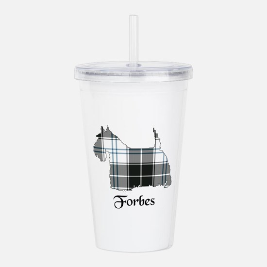 Terrier-Forbes dress Acrylic Double-wall Tumbler
