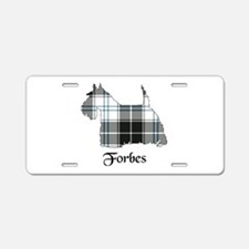 Terrier-Forbes dress Aluminum License Plate