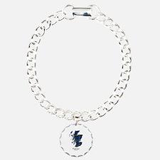 Map - Fletcher of Dunans Charm Bracelet, One Charm