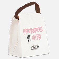 Proverbs 31 Wife Canvas Lunch Bag