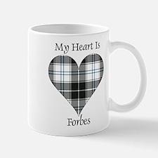 Heart-Forbes dress Small Mugs