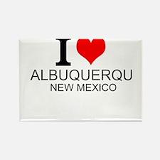 I Love Albuquerque, New Mexico Magnets