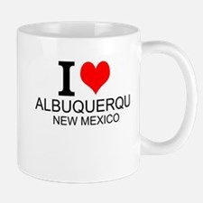 I Love Albuquerque, New Mexico Mugs