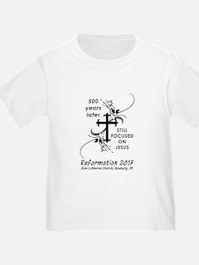 Reformation-focus on Jesus T-Shirt