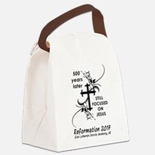 Cute Lutheran Canvas Lunch Bag