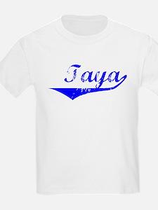 Taya Vintage (Blue) T-Shirt
