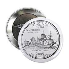 "Virginia State Quarter 2.25"" Button (10 pack)"