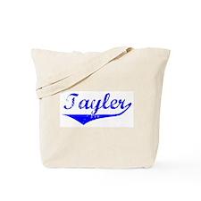Tayler Vintage (Blue) Tote Bag