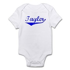 Tayler Vintage (Blue) Infant Bodysuit