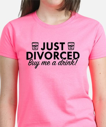 Just Divorced Women's Dark T-Shirt