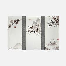 japanese Rectangle Magnet