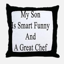 Cute Chefs Throw Pillow