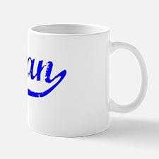 Teagan Vintage (Blue) Mug