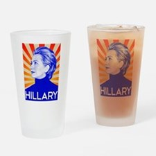Cute Obama re elected Drinking Glass