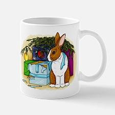 Rabbit Christmas Present Mug