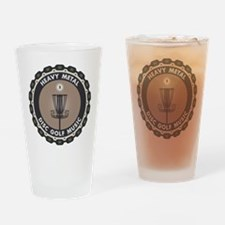 Disc Golf Chains Drinking Glass