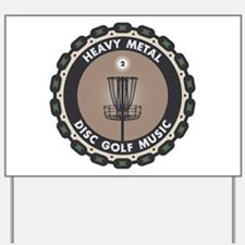 Disc Golf Chains Yard Sign