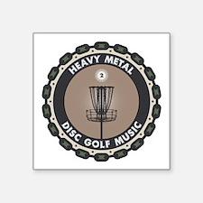 Disc Golf Chains Sticker