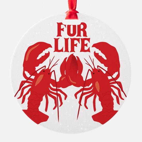 Lobsters Mate For Life Ornament