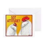 Got Attitude? Greeting Cards (Pk of 20)