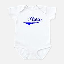 Thea Vintage (Blue) Infant Bodysuit
