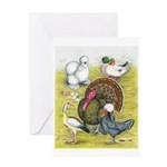 Assorted Poultry #3 Greeting Card