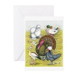 Assorted Poultry #3 Greeting Cards (Pk of 10)
