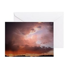 Optical Storm Greeting Card