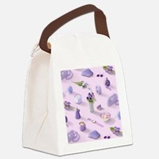 Girl's Purple Dream Canvas Lunch Bag