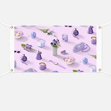 Girl's Purple Dream Banner