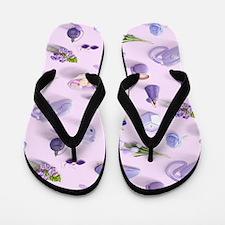 Girl's Purple Dream Flip Flops