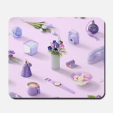 Girl's Purple Dream Mousepad