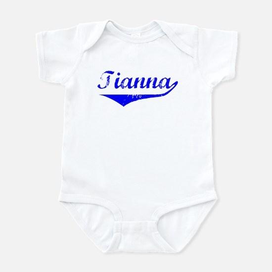 Tianna Vintage (Blue) Infant Bodysuit