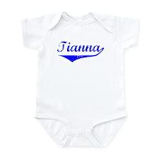 Tianna Vintage (Blue) Onesie