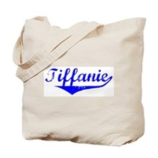 Tiffanie Vintage (Blue) Tote Bag