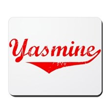 Yasmine Vintage (Red) Mousepad