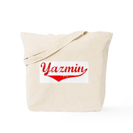 Yazmin Vintage (Red) Tote Bag