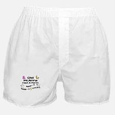 Old McAnna Had a Farm Boxer Shorts